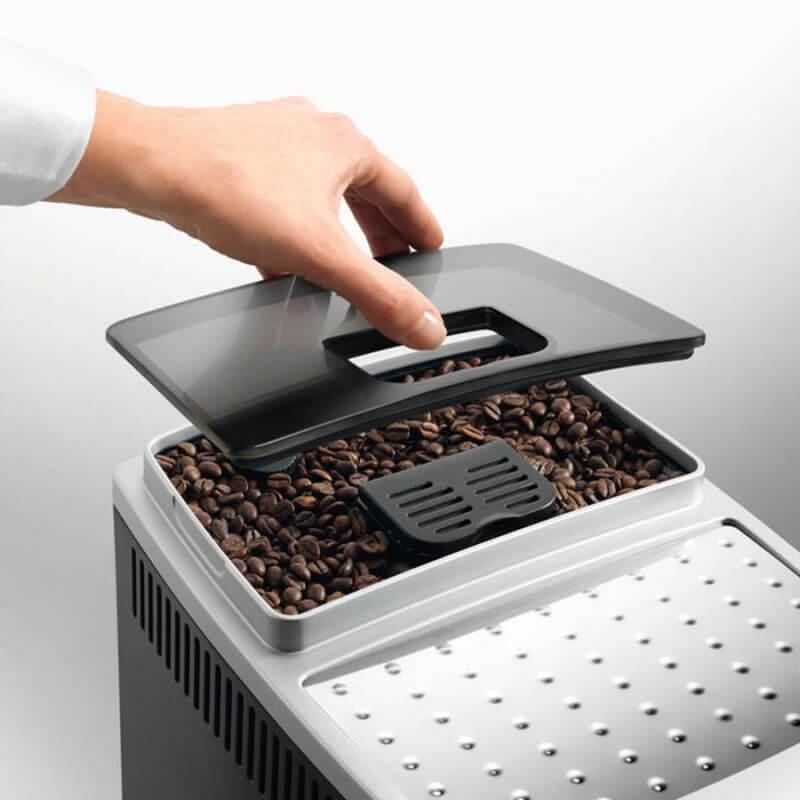 DeLonghi Magnifica S ECAM 21.117 SB zásobník kapslové kávy