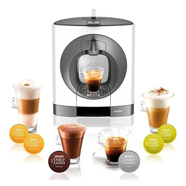 S Krups Docle Gusto si připravíte přesně takovou kávu, jakou máte rádi, nabídka je opravdu bohatá.