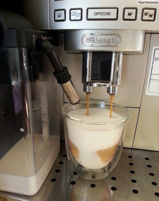 Milovníci cappuccina ocení krémovou pěnu a rychlou volbu jejich oblíbeného nápoje.