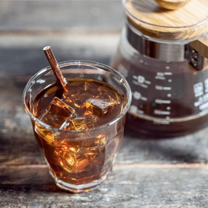 Filtrovaná káva na ledu