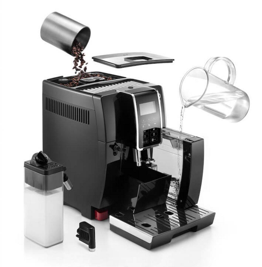 Vše důležité ke kávovaru dostanete od výrobce