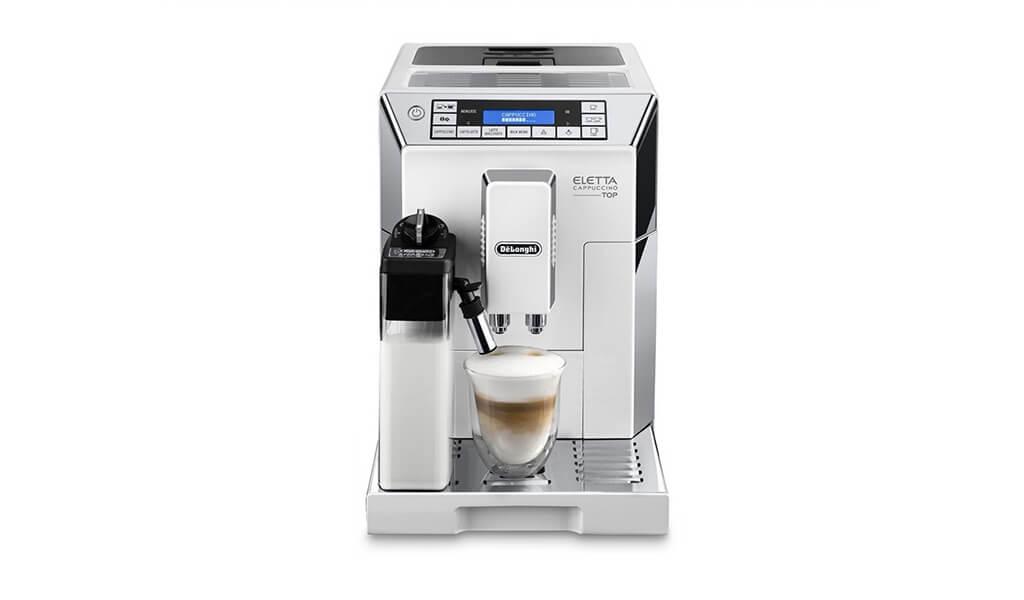 Automatický kávovar DeLonghi Eletta Cappuccino TOP ECAM 45.760.W