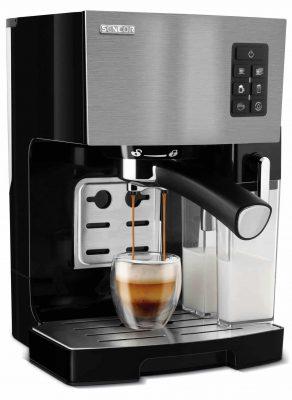 Pákový kávovar Sencor SES 4050SS